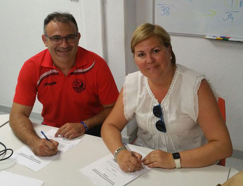 Firma del acuerdo de patrocinio
